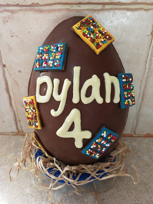 ביצת שוקולד לניפוץ