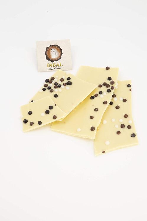 לבן פניני שוקולד