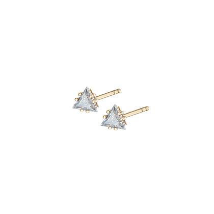 Pyramis Earrings (single side)