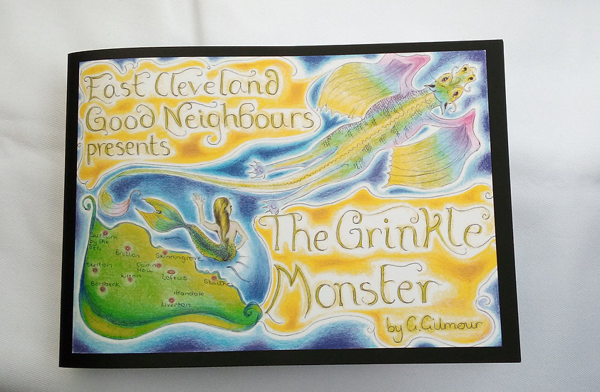 The Grinkle Monster Book by Gill Gilmour