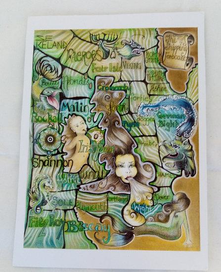 Gillian Gilmour Postcards