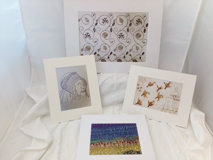 Louise Goult Textiles Prints of Original Artwork