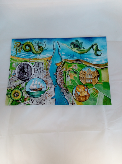 Prints of Artwork by Gillian Gilmour