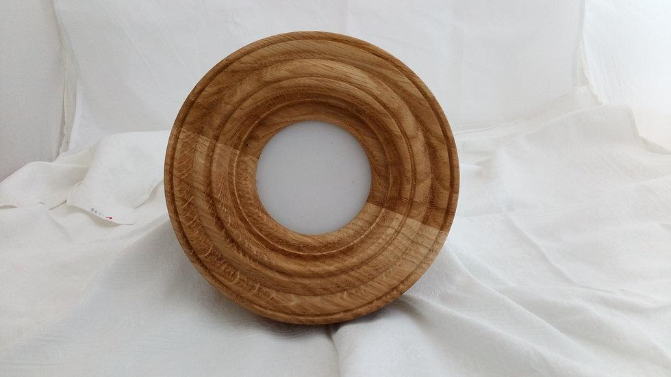 Oak Circular Photo Frame