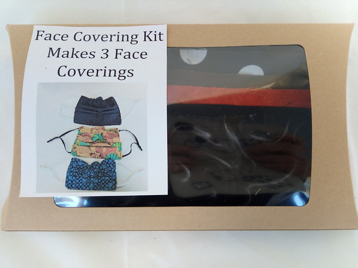 Make your own Face Coverings Kits - Makes 3