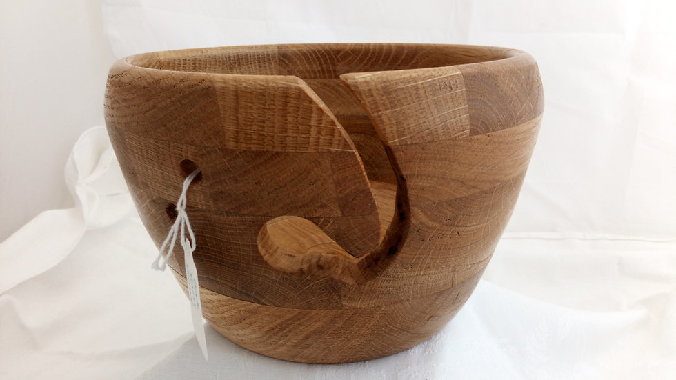 Oak Yarn Bowl