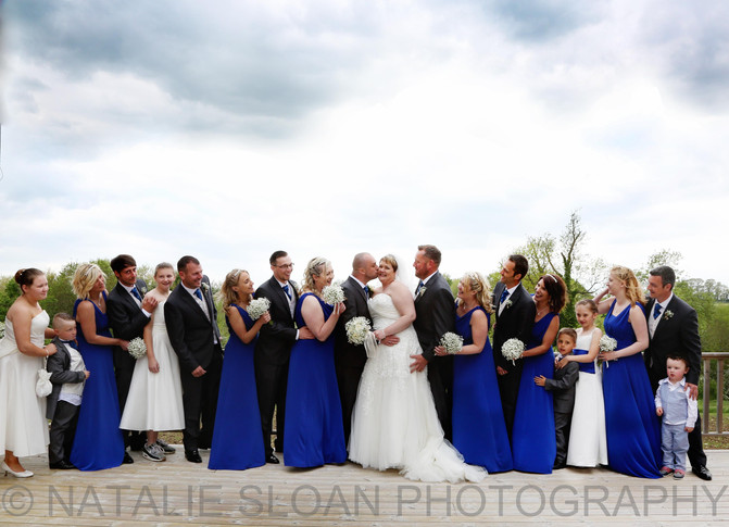 Mr & Mrs Shortland, Country Side Wedding at Thatch Barn, Yelling near  St Ives.