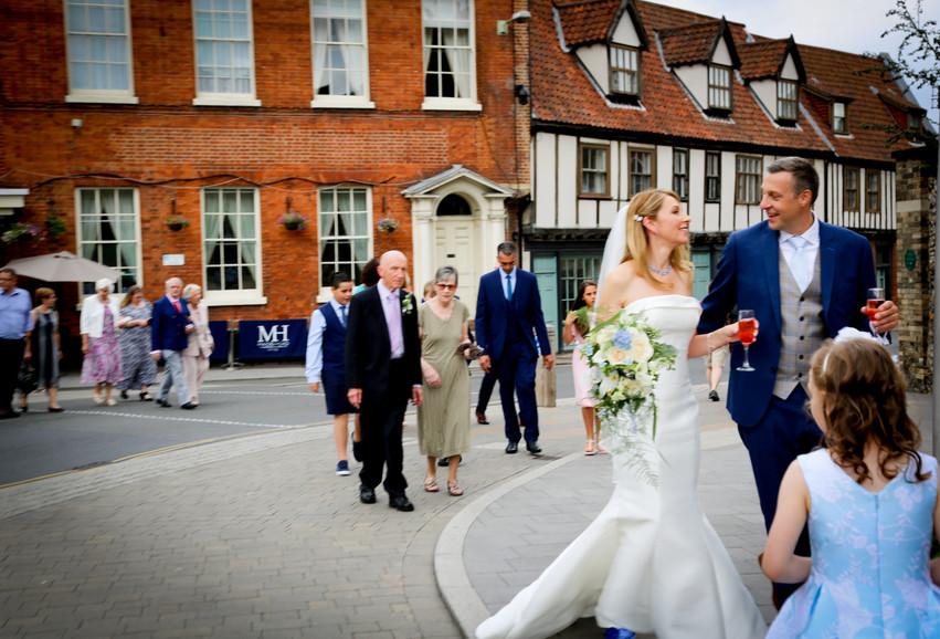 Maids Head Hotel Wedding in Norwich