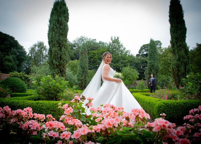 Delayed dream wedding in Derbyshire
