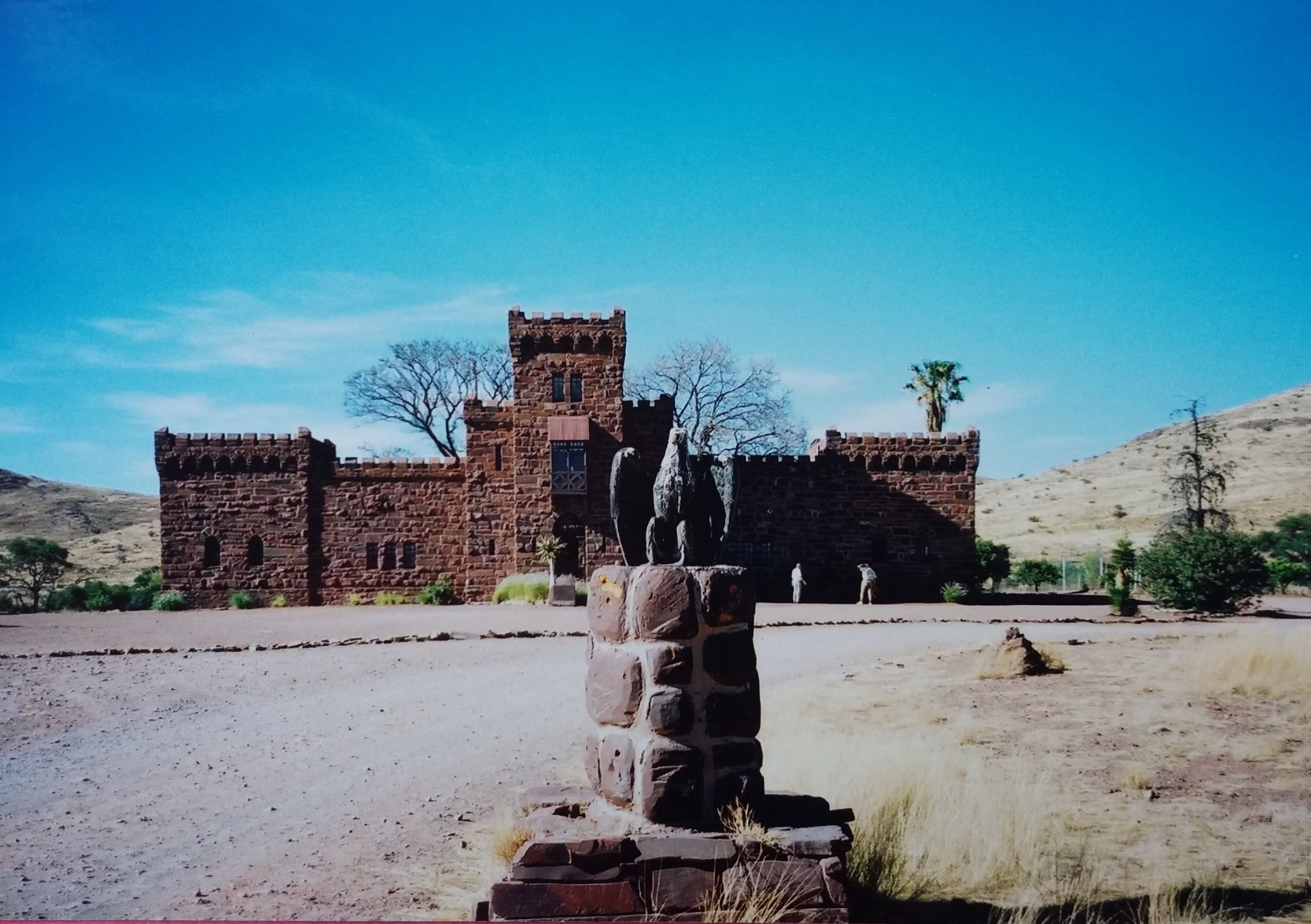 Namibia diary - Day 6 - Duwisib Castle