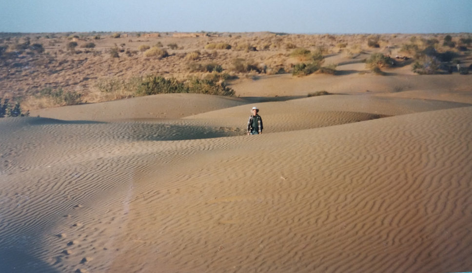 India diary - Day 10 - desert out of Jai