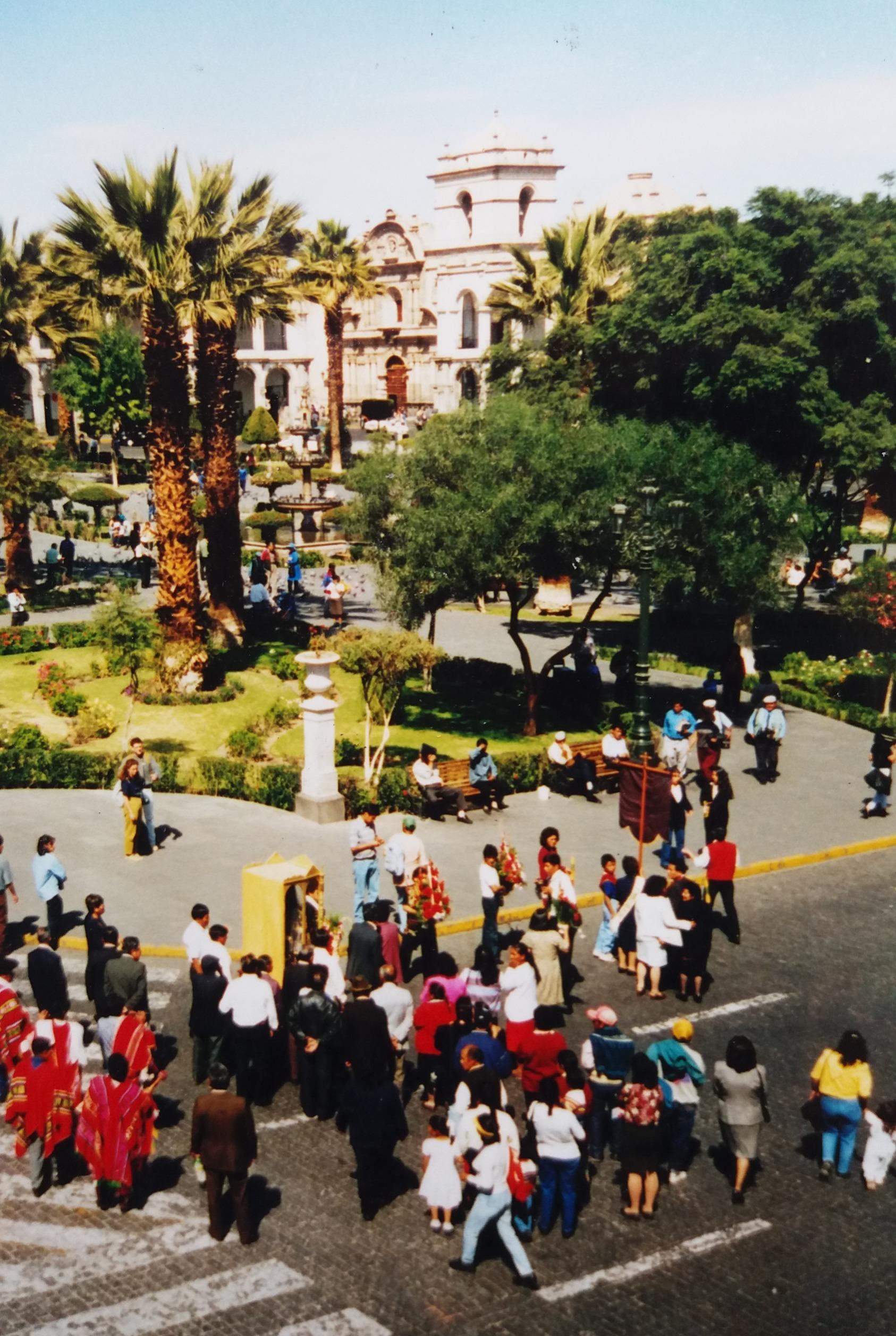Peru diary - Day 7 - Arequipa