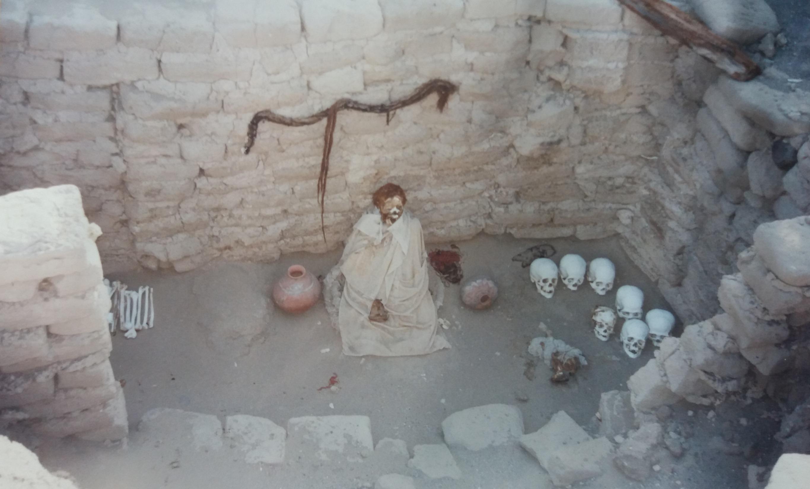 Peru diary - Day 5 - Chauchilla cemetery