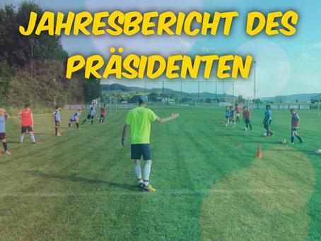 Jahresbericht des Präsidenten - Saison 2019/2020