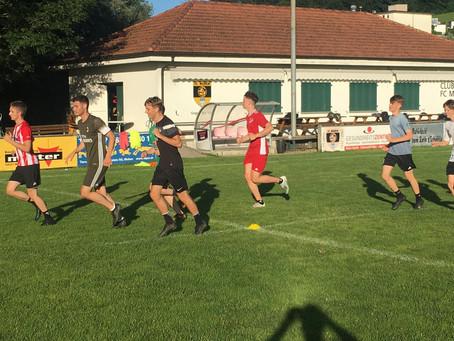 1. Mannschaft vor erstem Testspiel