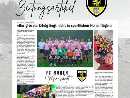 Artikel in den Aargauer Nachrichten