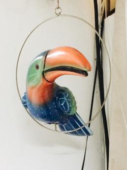 アンティーク鉄玩具鳥04