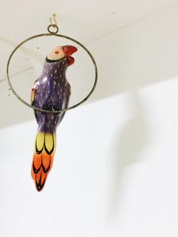アンティーク鉄玩具鳥03