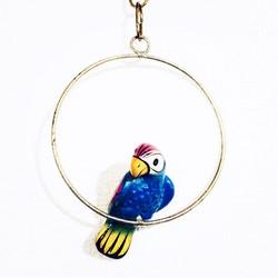 アンティーク鉄玩具鳥01