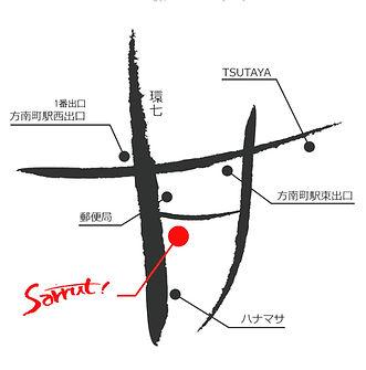 地図studio sarrut環七