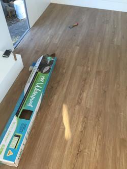 Sarah vintage caravan flooring