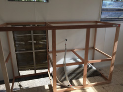 interior york caravan repair and cabinets