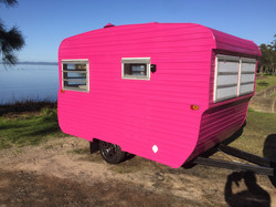 york caravan exterior paint job