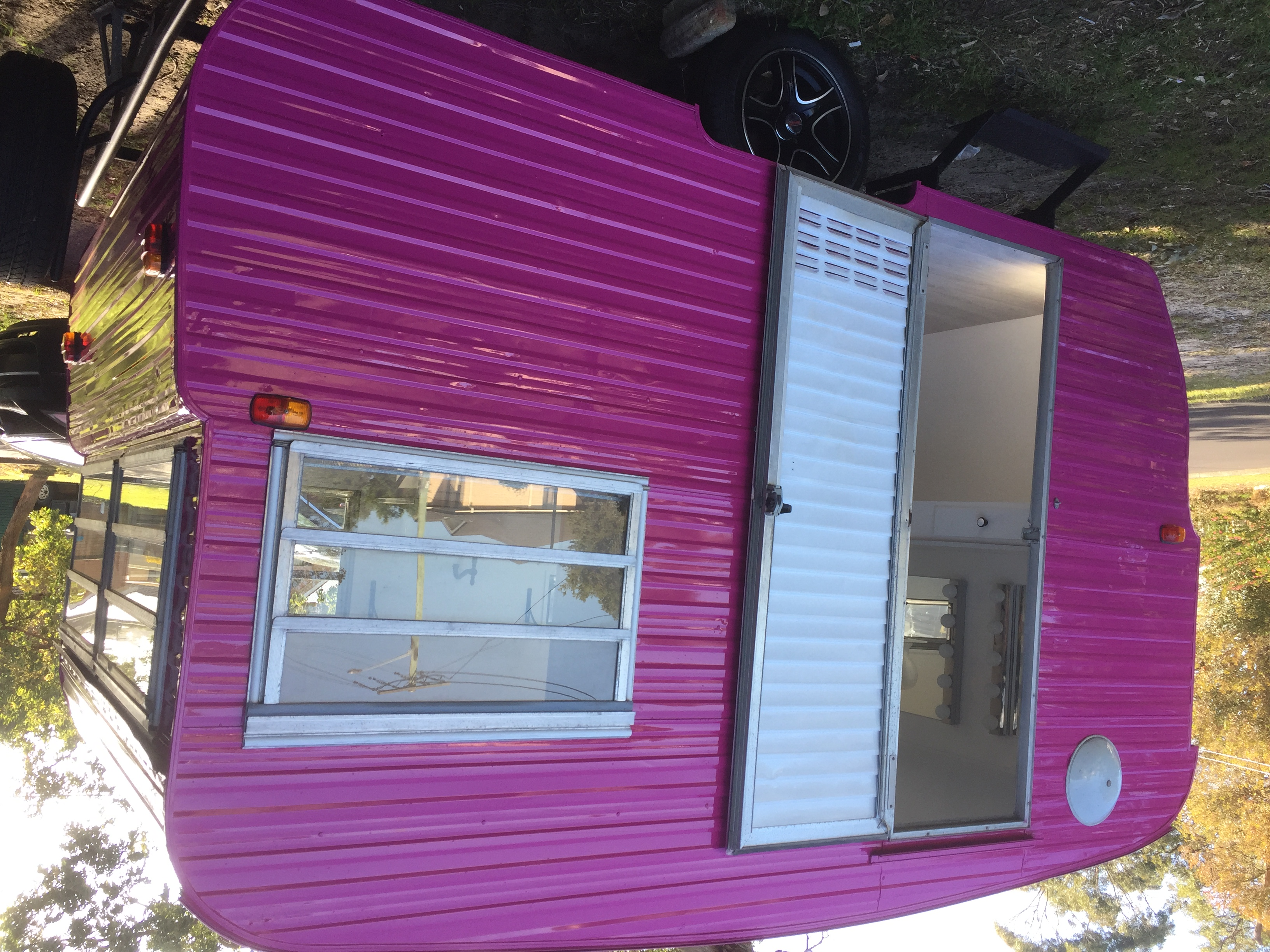 york caravan respray exterior two pack