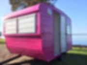 12ft York caravan renovation mobile busi