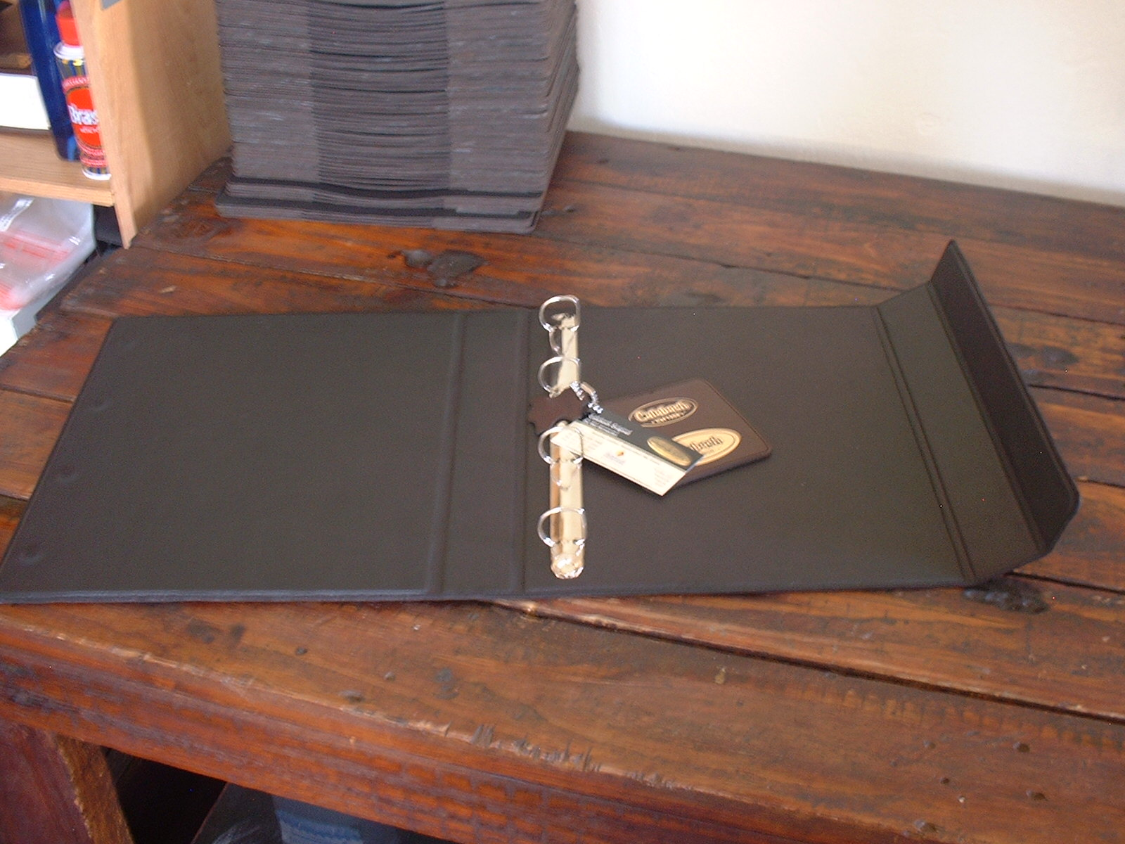 Inner View of leather Files