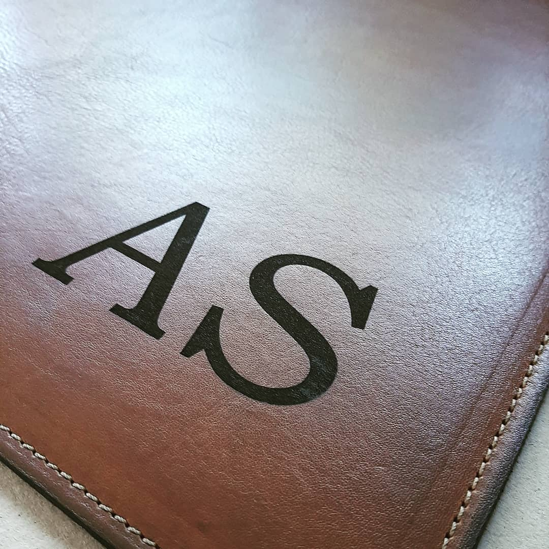 Desk Pad - Genuine leather
