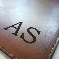 Desk Pad - Genuine leather