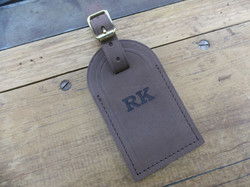 Leather with engraving