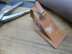 Embossing on Tan Tags