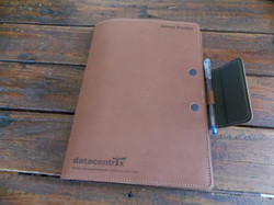 Notebook cover magnetic close