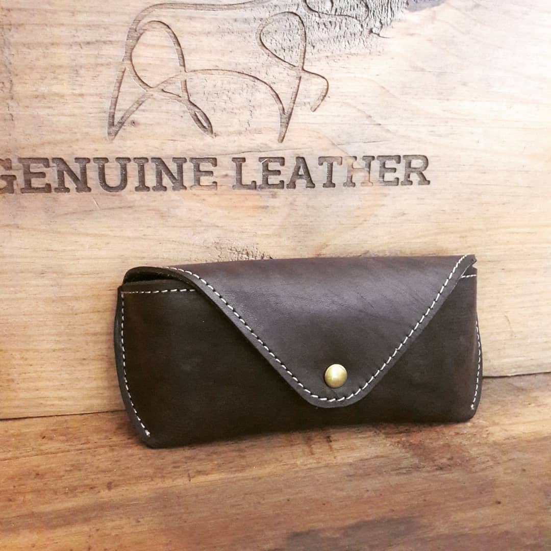 New Item - Sun Glasses Leather Case