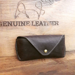 New Item - Sun Glasses Leather Case