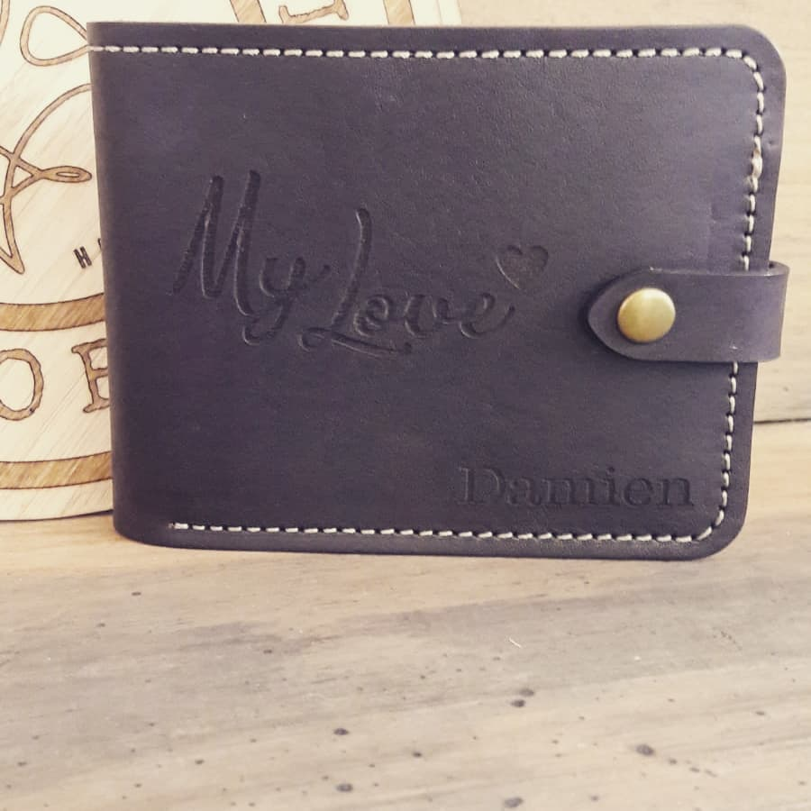Kimosabee wallet with press stud