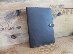 A5 Leather book cover