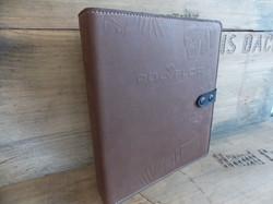 Genuine Leather filo fax cover