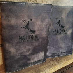 A4 or A5 Distressed Brown covers