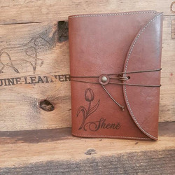A5 Leather book covers for Croxley books