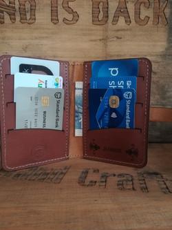 Inner View - Vintage Wallet