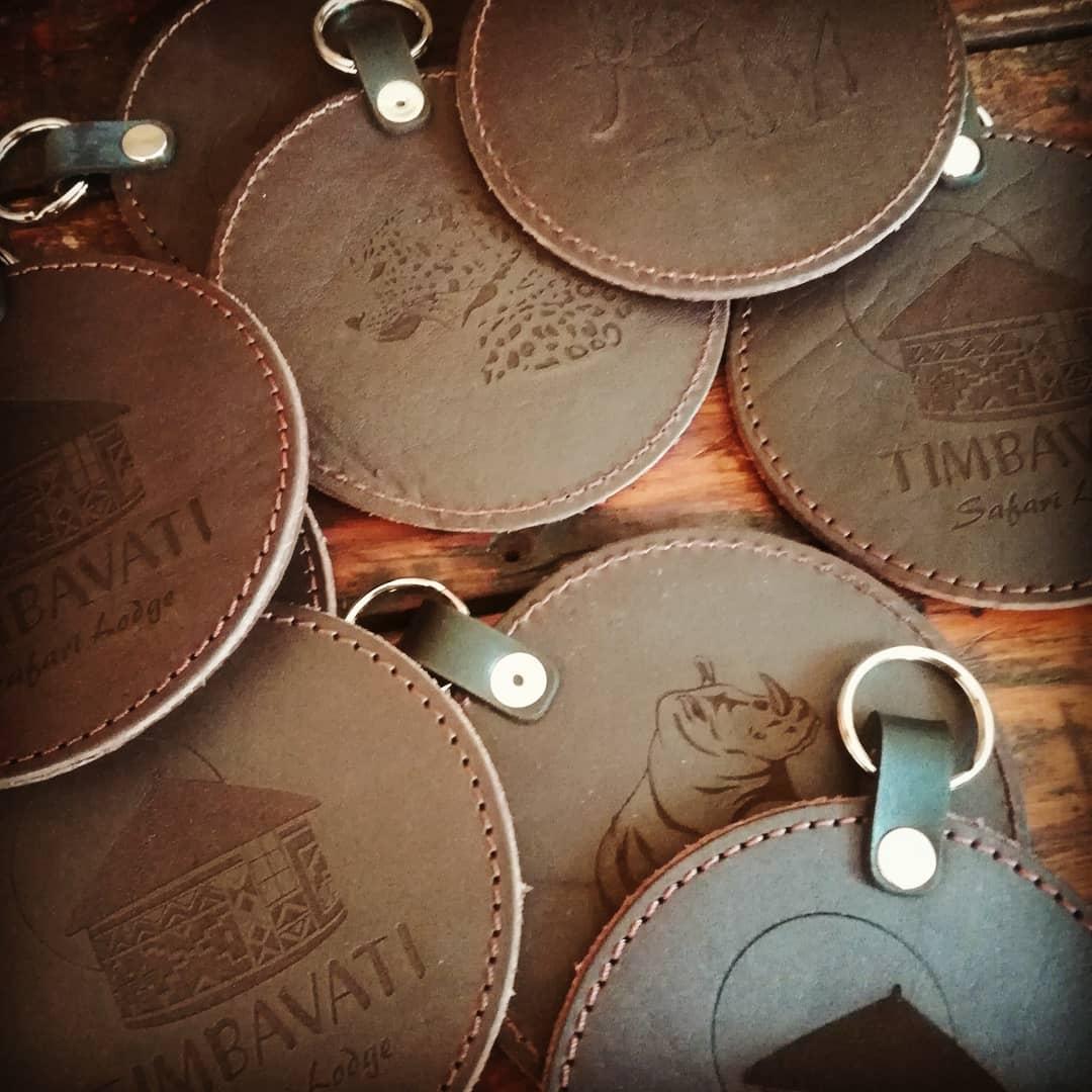 Round Keyrings
