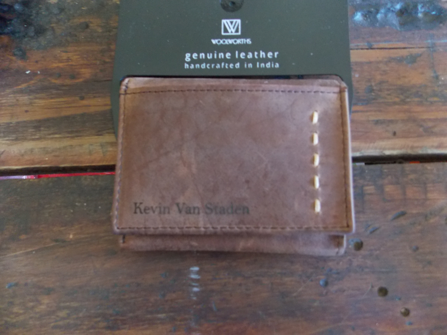 Engraving on Wallets