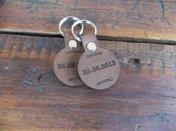 Small Round Keyrings