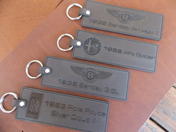 Tailor made key rings