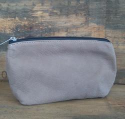 Dusty Brown Makeup Bag