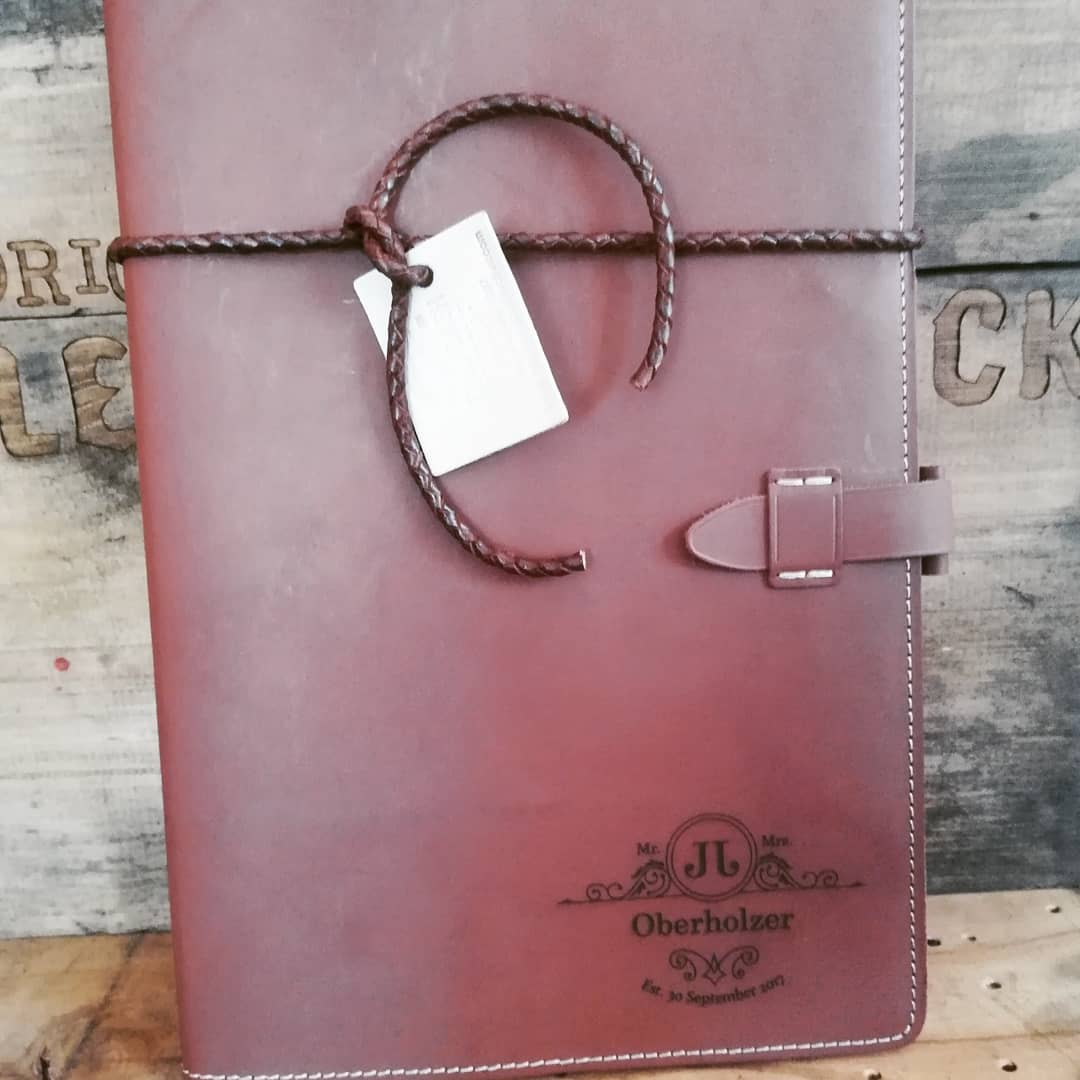 A4 Belt Book Cover