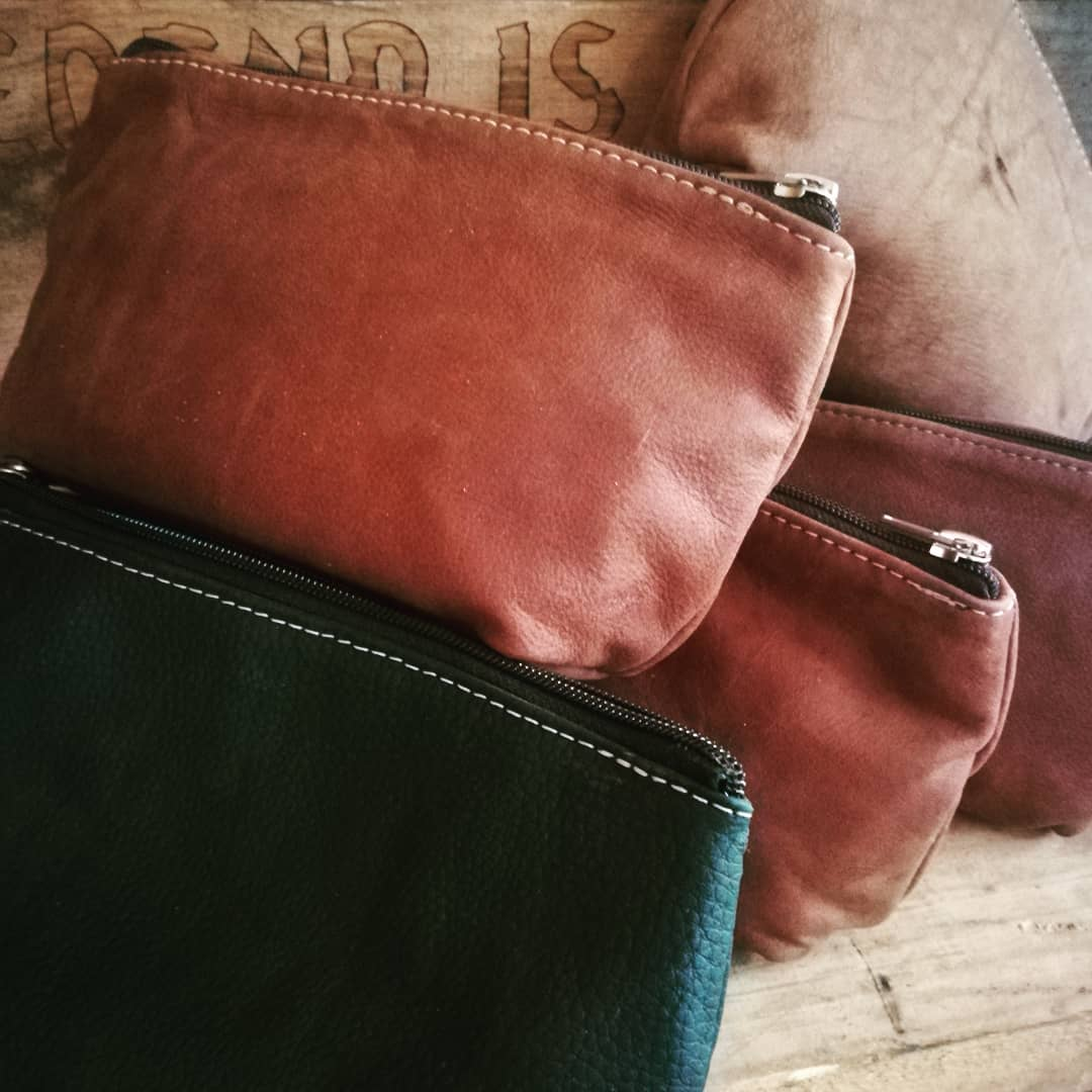 Leather Makeup Bags